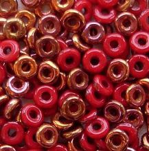 O Beads Opaque Red Sunset - 5 grams